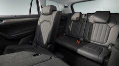 Nuovo Skoda Kodiaq 2021: la terza fila di sedili