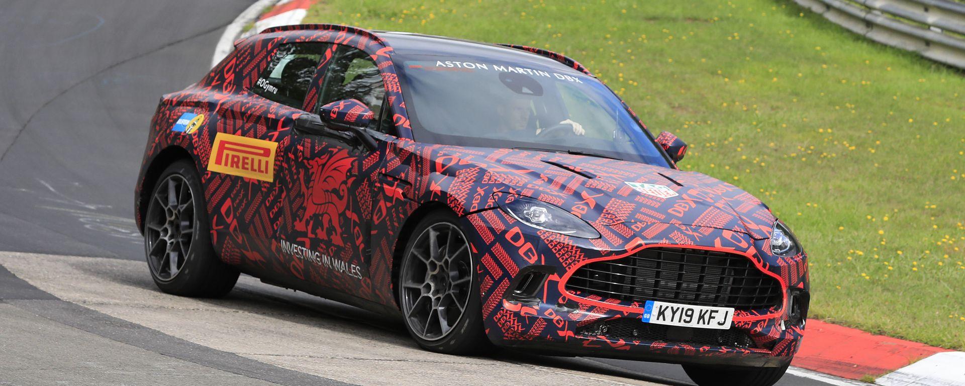 Nuovo Suv Aston Martin DBX: quasi pronto al debutto