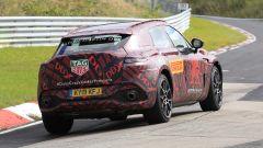 Nuovo Suv Aston Martin DBX: una vista del 3/4 posteriore