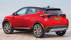 Nuovo Suv compatta Toyota, piattaforma nuova Yaris