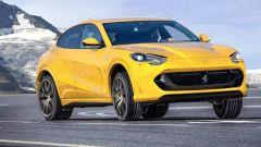 Nuovo SUV Ferrari Purosangue: una immagine di qualche mese fa ipotizzava questo design