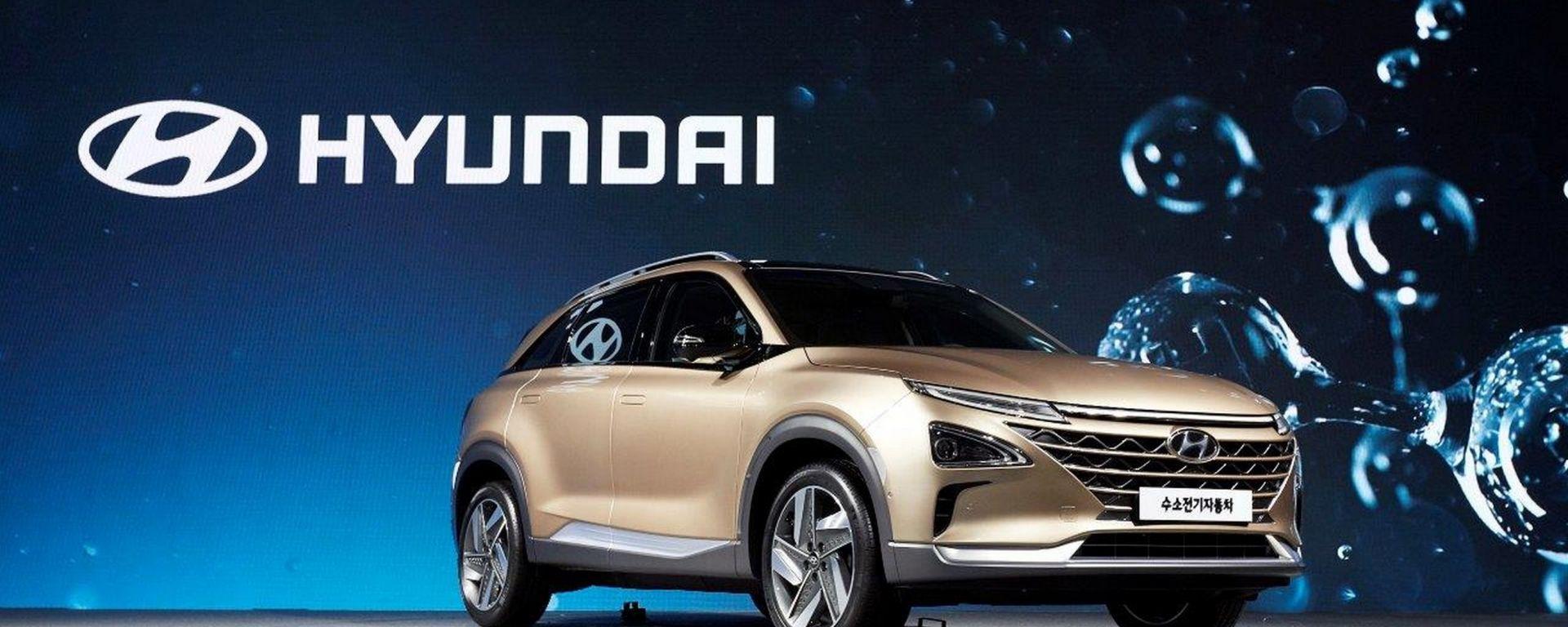 Nuovo SUV Hyundai a idrogeno nel 2018: arriva a Las Vegas