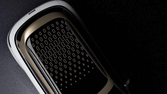 Nuovo SUV smart, prima immagine teasing