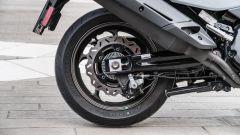 Nuovo Sym Maxsym TL 500: il freno posteriore a margherita