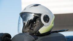 Nuovo Sym Maxsym TL 500 l'abbigliamento della prova: casco Tucano Urbano El Tange