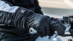 Nuovo Sym Maxsym TL 500 l'abbigliamento della prova: guanti Tucano Urbano Hand Warm