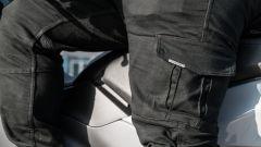 Nuovo Sym Maxsym TL 500 l'abbigliamento della prova: pantaloni Hevik Harbour Cargo