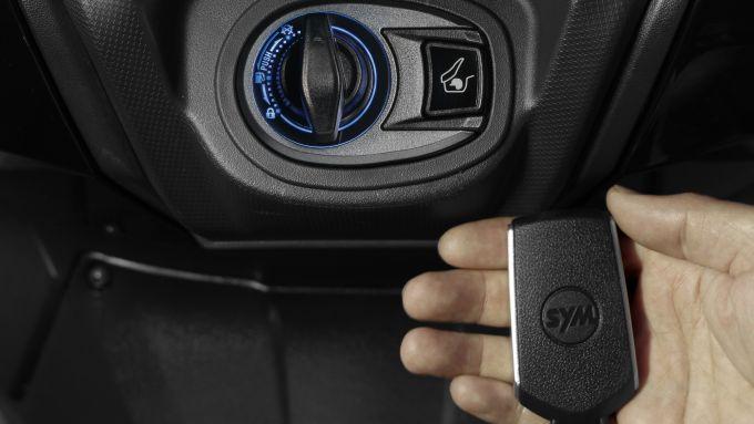 Nuovo Sym Maxsym TL 508 2021: la smart key