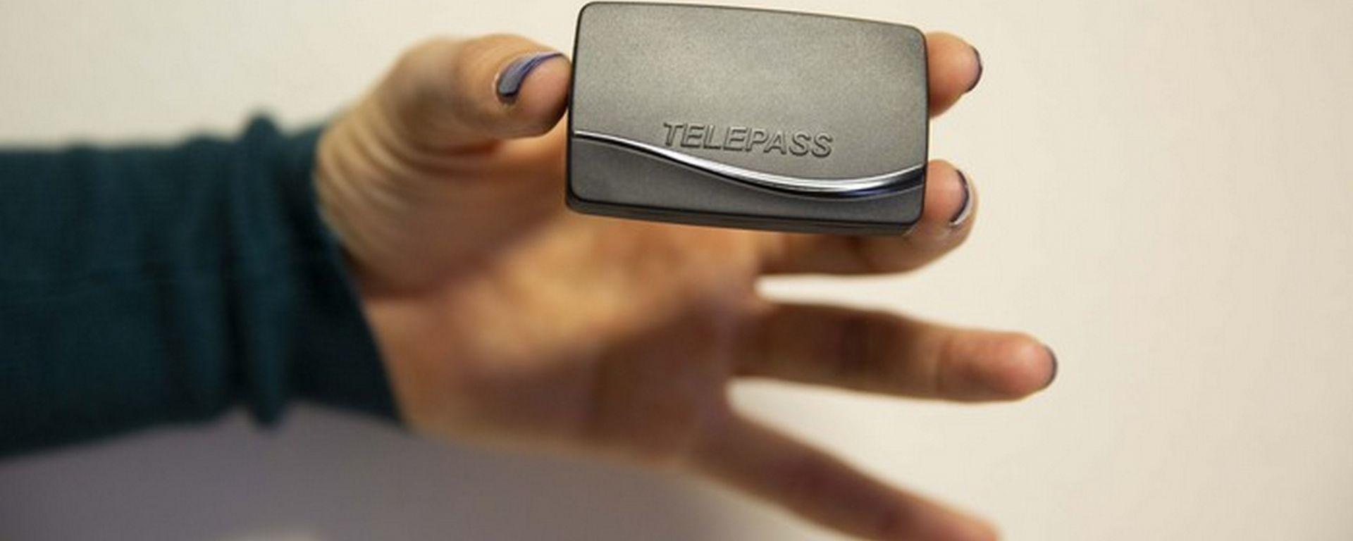 Nuovo Telepass, più piccolo e leggero