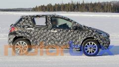 Nuovo Toyota B-SUV 2020: visuale laterale