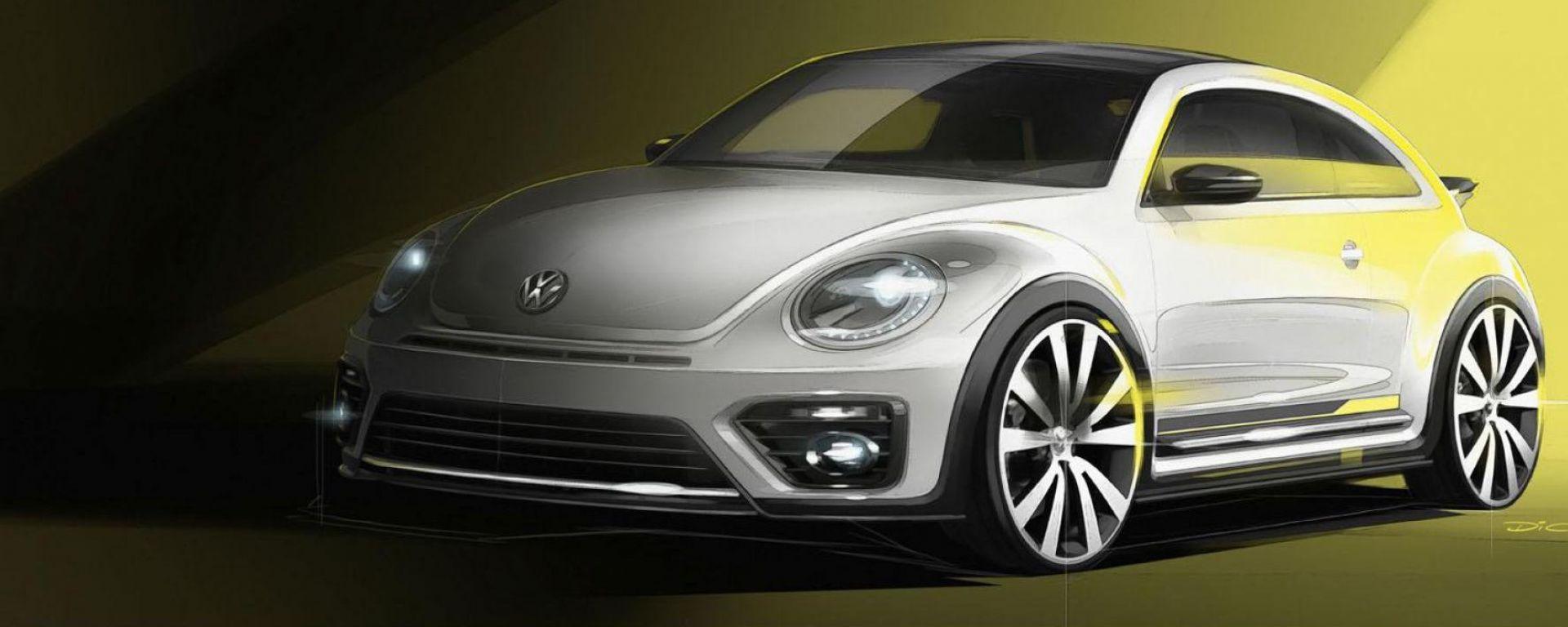Nuovo Volkswagen Maggiolino: elettrico e a trazione posteriore
