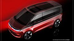 Nuovo Volkswagen Multivan 2021: la Casa tedesca mostra alcuni teaser