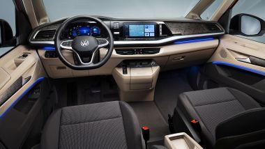 Nuovo Volkswagen Multivan: i nuovi interni