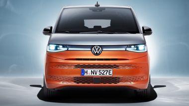 Nuovo Volkswagen Multivan: visuale frontale