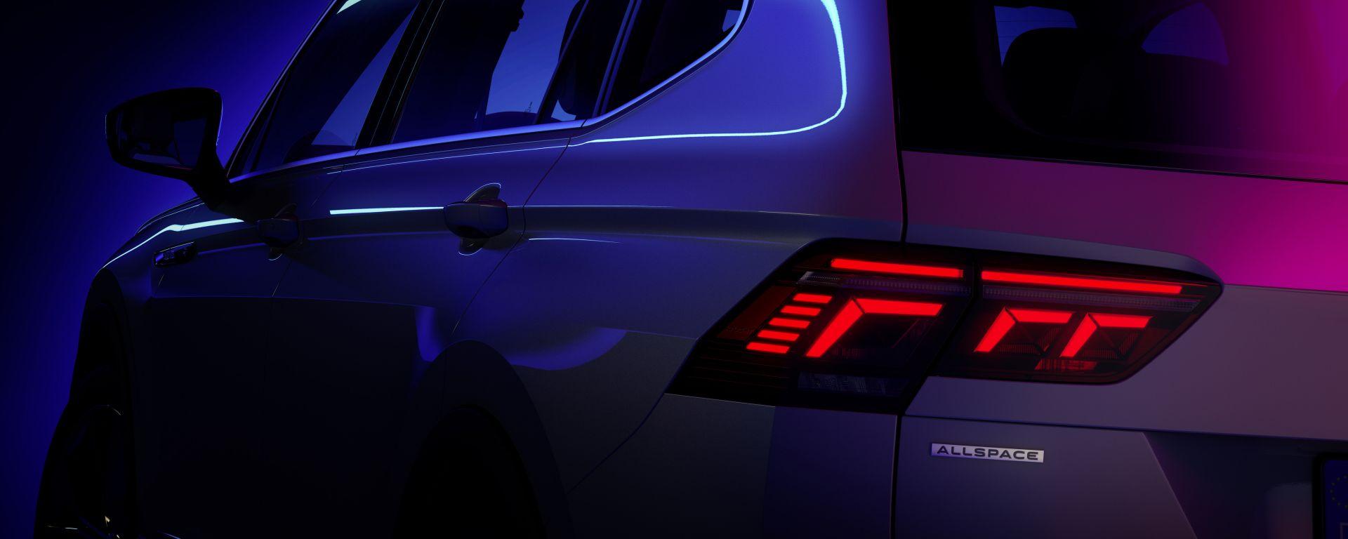 Nuovo VW Tiguan Allspace 2021: la presentazione il 12 maggio