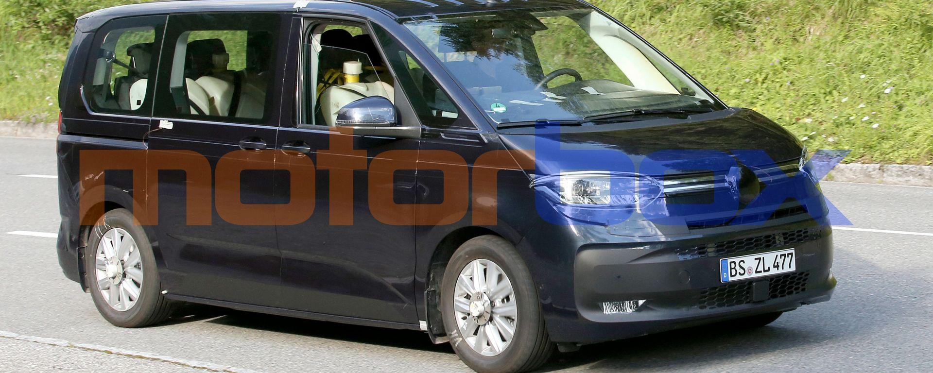 Nuovo VW Transporter 2021: quasi pronto il van tedesco