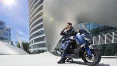 Nuovo Yamaha T-Max 400 2018, il motore è Euro 4