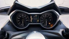 Nuovo Yamaha T-Max 400 2018, la nuova strumentazione