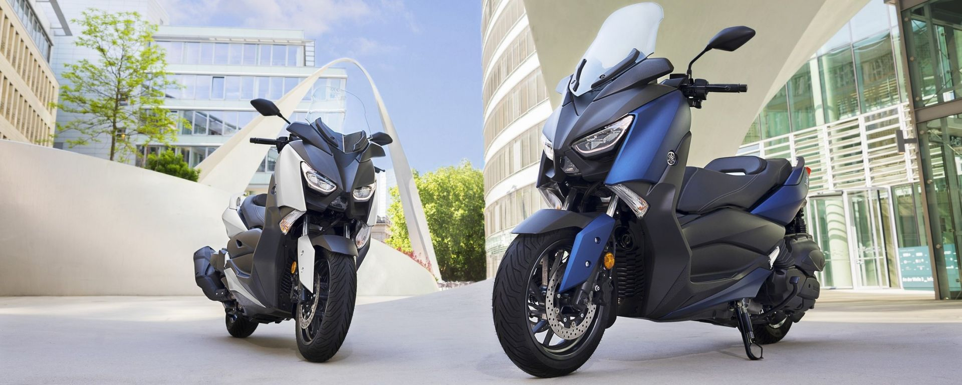 Nuovo Yamaha T-Max 400 2018