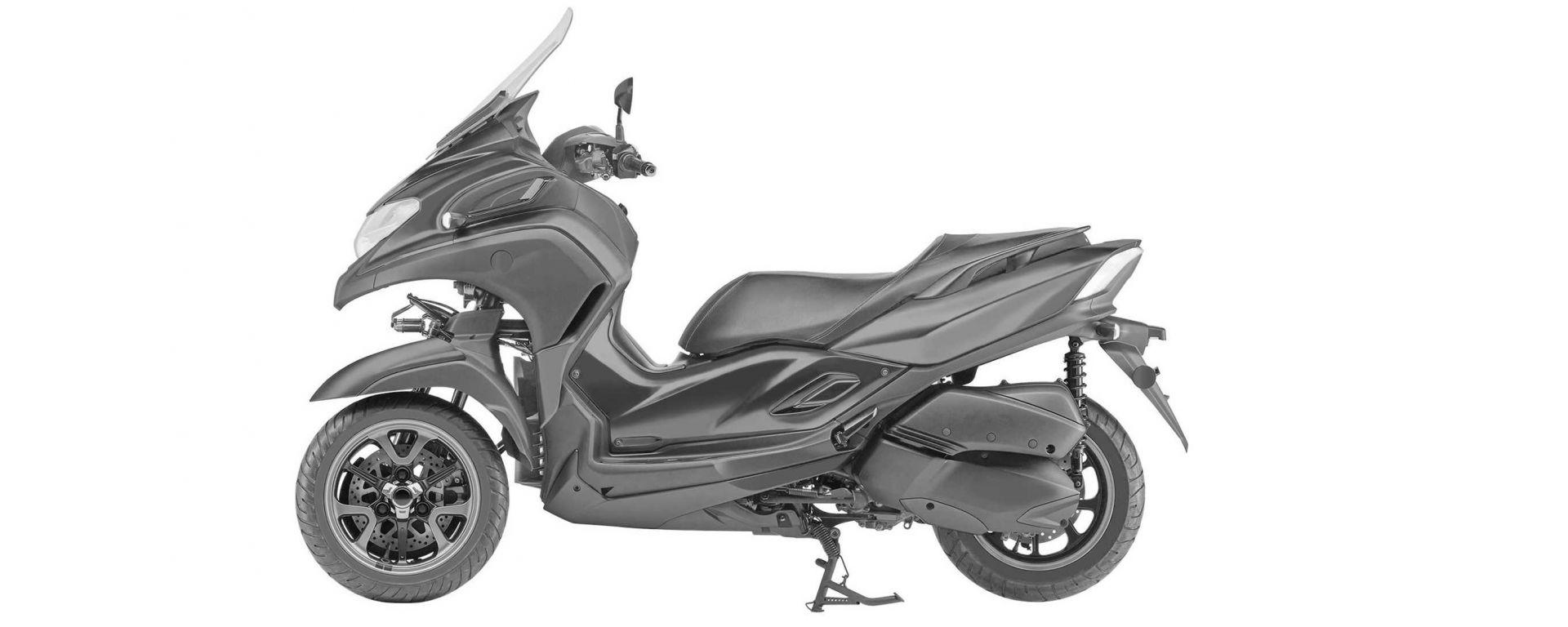 Nuovo Yamaha Tricity 300: potrebbe essere così