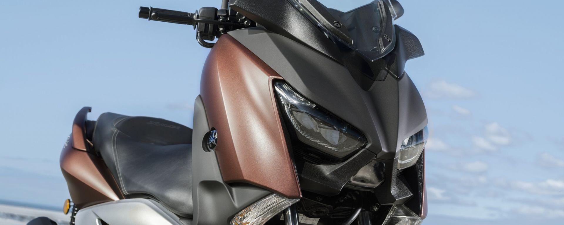 Nuovo Yamaha X-Max 300, cupolino