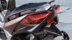 Nuovo Yamaha X-Max 300, gruppo ottico posteriore