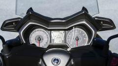 Nuovo Yamaha X-Max 300, quadro strumenti