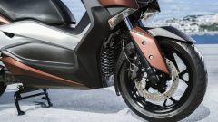 Nuovo Yamaha X-Max 300, ruota anteriore