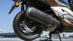 Nuovo Yamaha X-Max 300, scarico