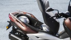 Nuovo Yamaha X-Max 300, vano sottosella