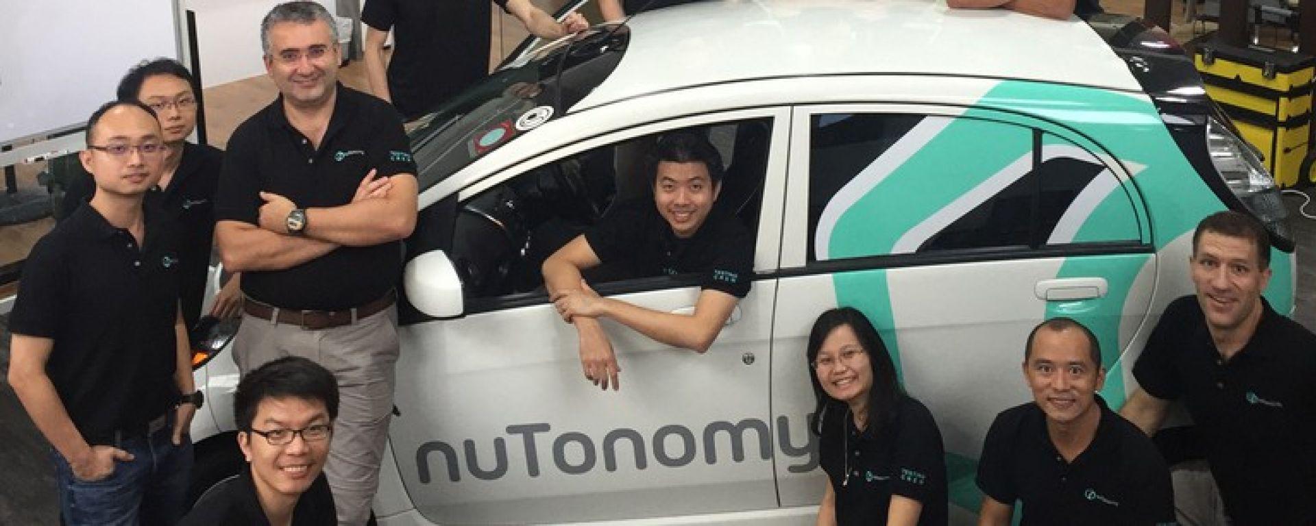nuTonomy sfida Google, Tesla e Uber nella corsa ai taxi robot