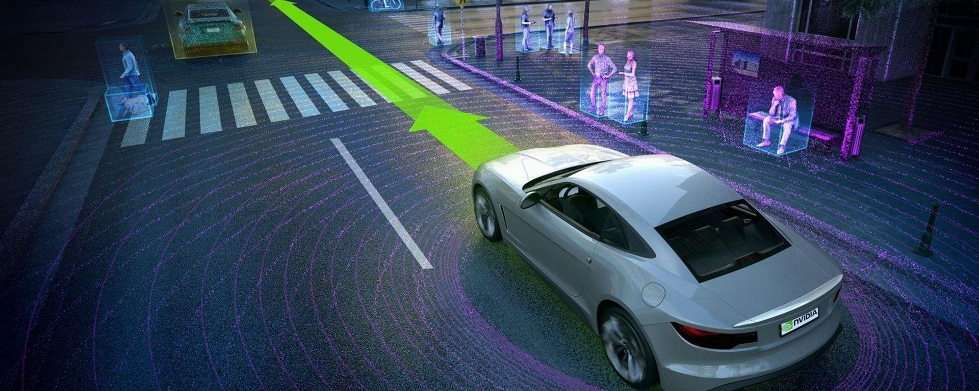 Nvidia: ecco il supercomputer per l'auto del futuro