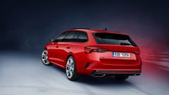 Octavia iV RS Station Wagon: visuale di 3/4 posteriore