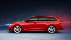Octavia iV RS Station Wagon: visuale laterale