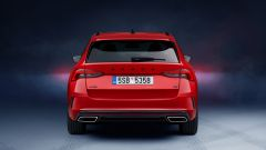 Octavia iV RS Station Wagon: visuale posteriore