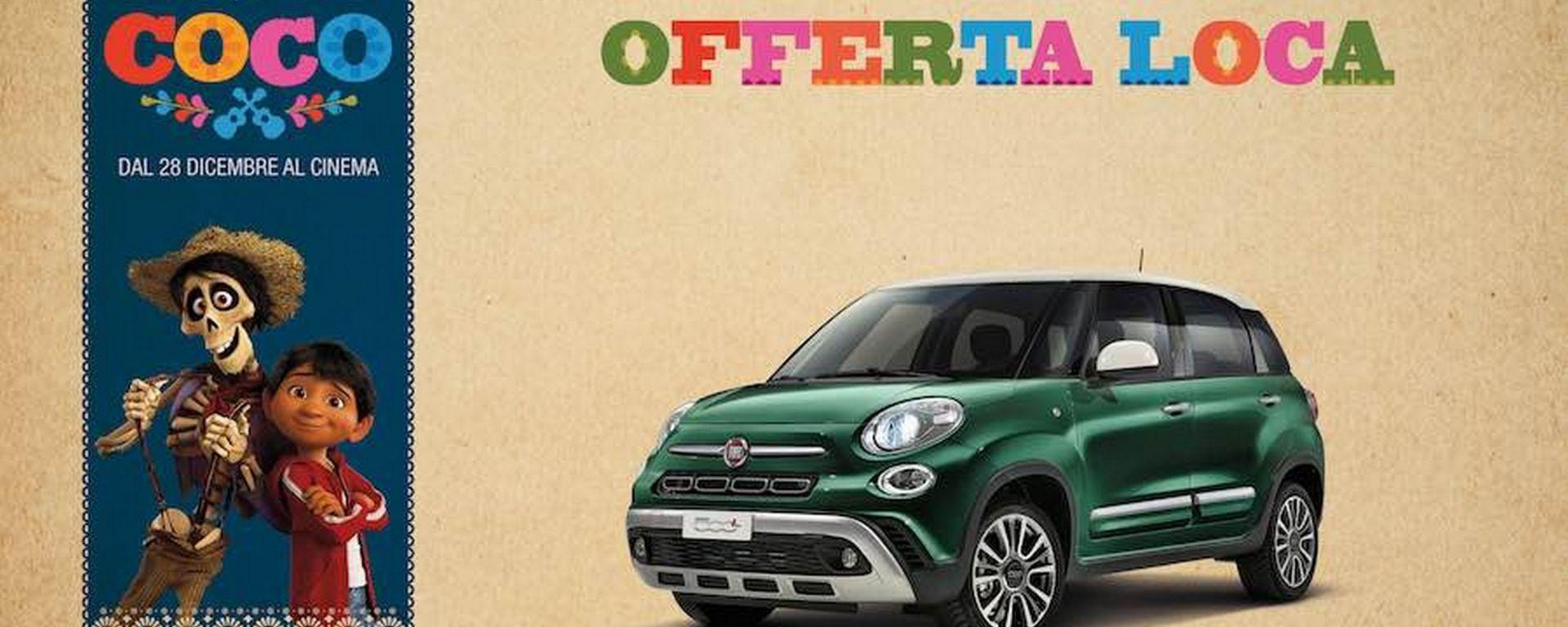 Offerta Fiat: 1.000 euro di sconto fino a Capodanno