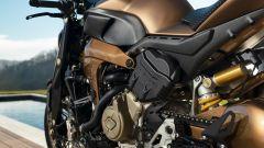 Officine GP Design V4 Penta: dettaglio del mono posteriore