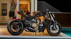 Officine GP Design V4 Penta: vista laterale
