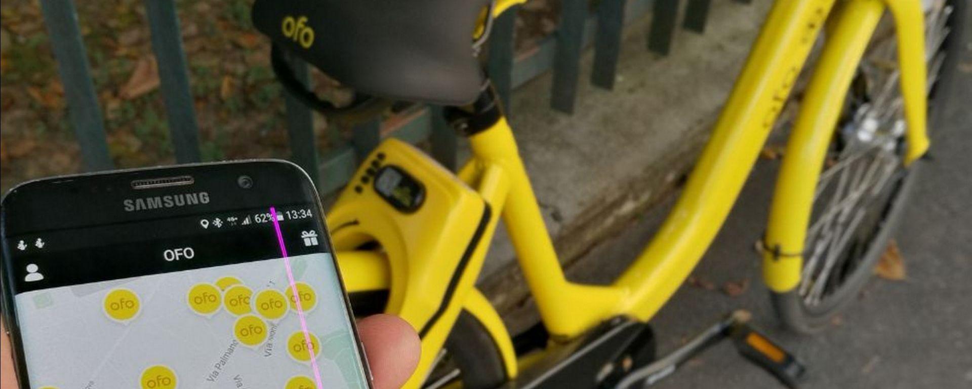 Ofo, nuovo bike-sharing a Milano