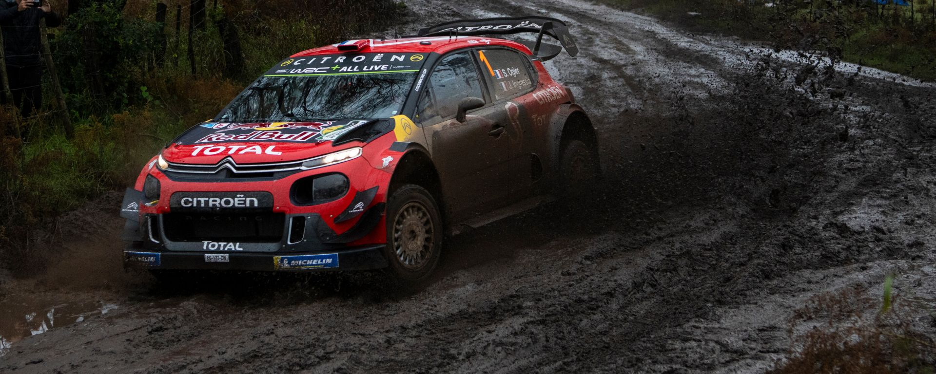 Ogier - Citroen C3 wrc plus