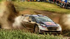 Ogier con la sua Ford M Sport - WRC 2017 Rally Polonia