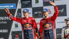 Ogier e Ingrassia - Citroen Total World Rally Team podio rally del Cile