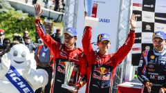 Ogier e Ingrassia - Citroen Total World Rally Team podio Tour de Corse