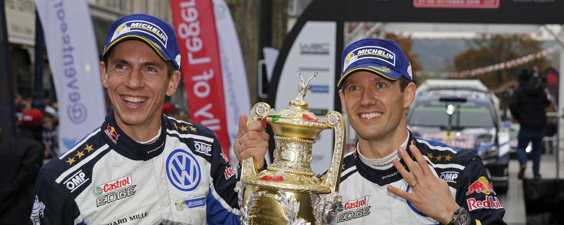 Ogier e Ingrassia - Volkswagen Motorsport