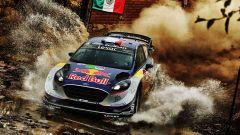 Ogier e la Ford Fiesta WRC M-Sport - WRC 2017 Rally del Messico