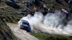 Ogier e la sua Ford Fiesta M-Sport