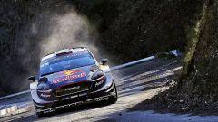 Ogier in Corsica con la sua Ford Fiesta WRC