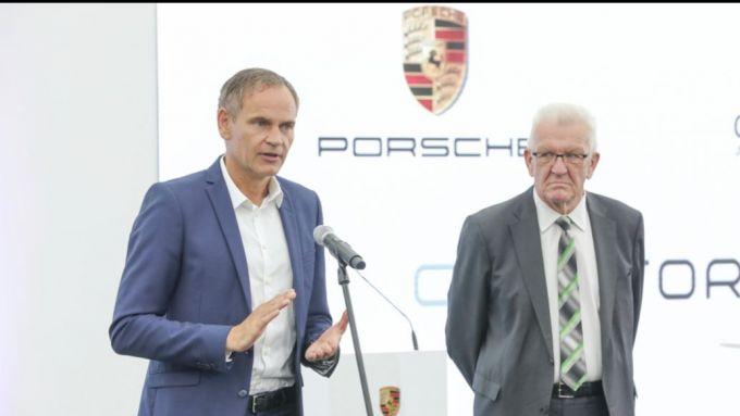 Oliver Blume, Presidente del Consiglio direttivo di Porsche