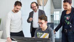 Oliver Stefani guida i ragazzi della Skoda Academy
