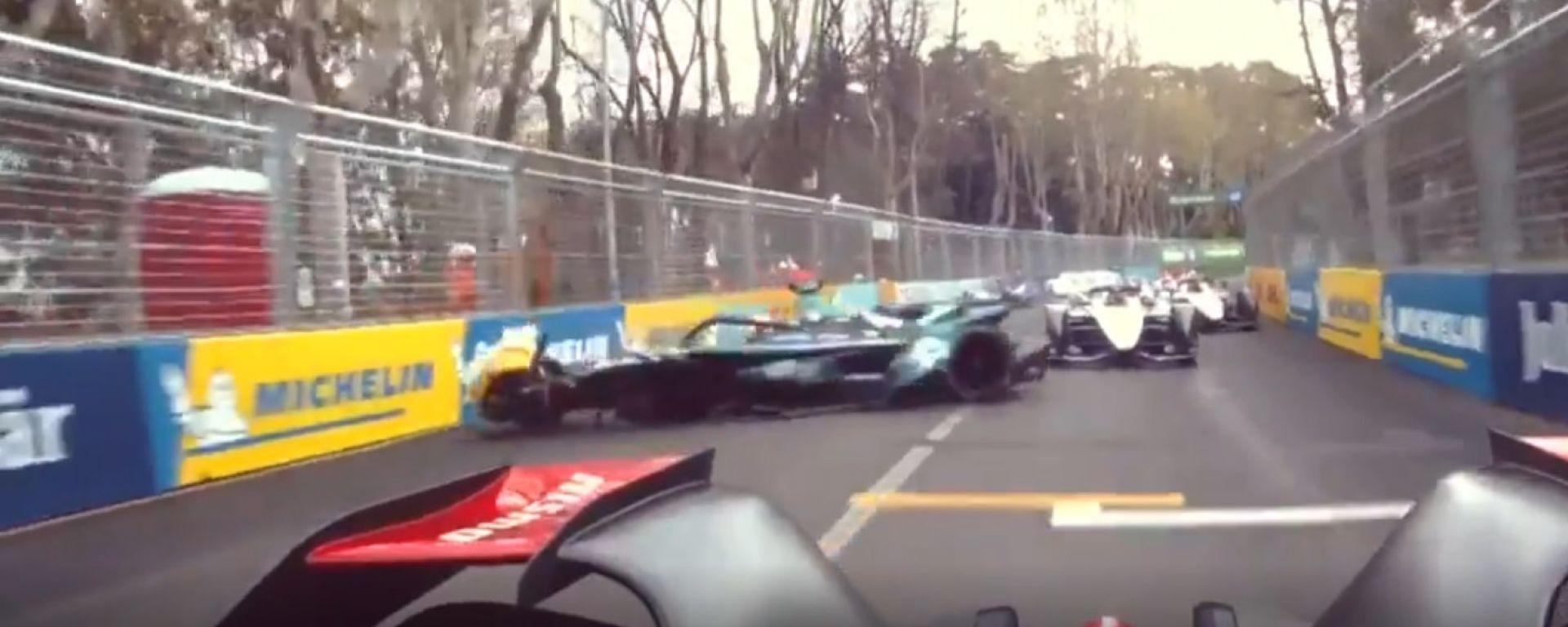 Oliver Turvey fa strike nelle FP1 del Rome ePrix